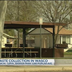Bulky waste collection event scheduled in Wasco