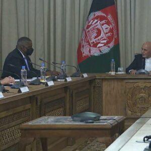 Defense Secretary Austin makes surprise visit to Afghanistan