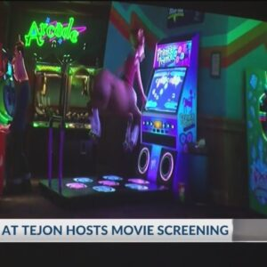 Hundreds show up for Outlets at Tejon's 'Cinema Under the Stars' event