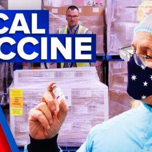 Coronavirus: Australian-made AstraZeneca vaccines distributed | 9 News Australia