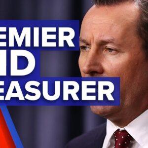 Mark McGowan becomes Premier and Treasurer of WA I 9News Perth