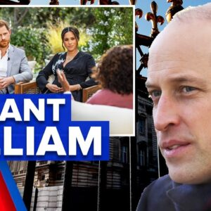 Prince William declares Royal Family is not racist | 9 News Australia