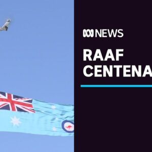 RAAF celebrates its centenary with spectacular flyover | ABC News