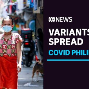 Health workers fear infectious variants will drive third wave of COVID in the Philippines   ABC News