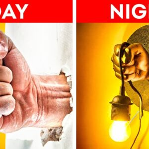 30 DIY LAMPS and NIGHT LIGHTS For a Cozy Home