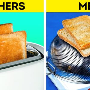 34 COOKING TRICKS that will make you a PRO