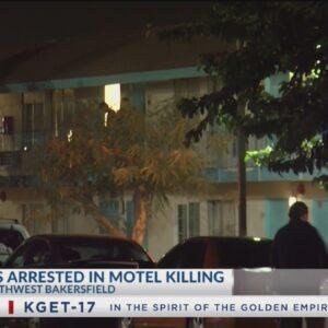 Arrests made in deadly Rosedale Inn shooting