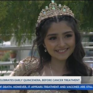 Community pitches in to help 14-year-old celebrate early quinceñera