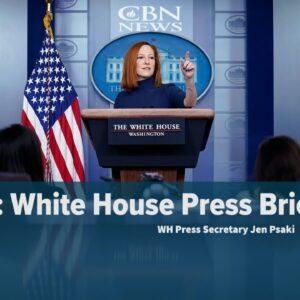 LIVE: WH Press Secretary Jen Psaki Briefs Nation — April 8, 2021 | CBN News
