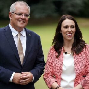 'We'll make him very welcome': Morrison and Ardern likely to meet in Queenstown