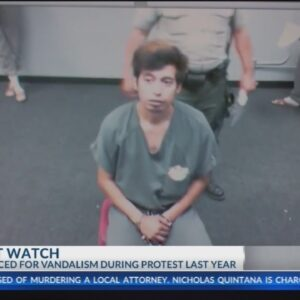 Man sentenced to time served for vandalizing BPD memorial