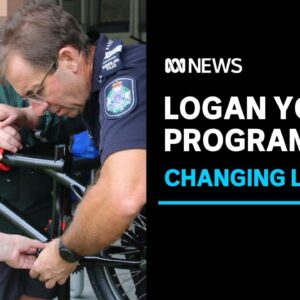 PCYC Logan bike maintenance program changing lives and attitudes of youth offenders   ABC News