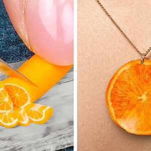 EPOXY RESIN vs POLYMER CLAY: Cool DIY Jewelry, Mini Crafts And Accessories