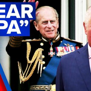 Prince Philip's low-key family funeral | 9 News Australia