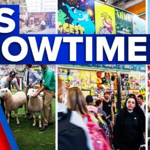 The Sydney Royal Easter Show is underway   9 News Australia