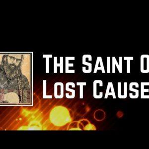 Steve Earle & The Dukes - The Saint Of Lost Causes (Lyrics)