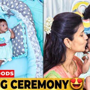 Sridevi Ashok குழந்தையுடன் First Photoshoot | Naming Ceremony | Raja Rani | Sitara